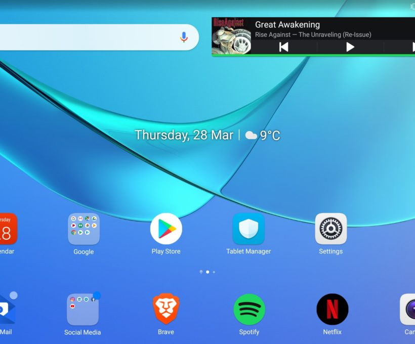 Nieuwe tablet: Huawei MediaPad M5 10,8″: een eerste indruk